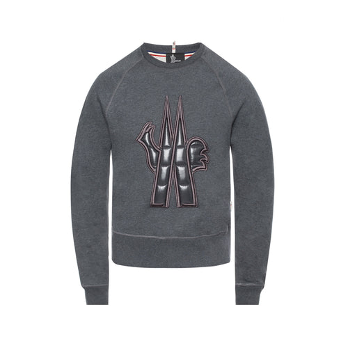 Moncler Quilted Logo Sweatshirt