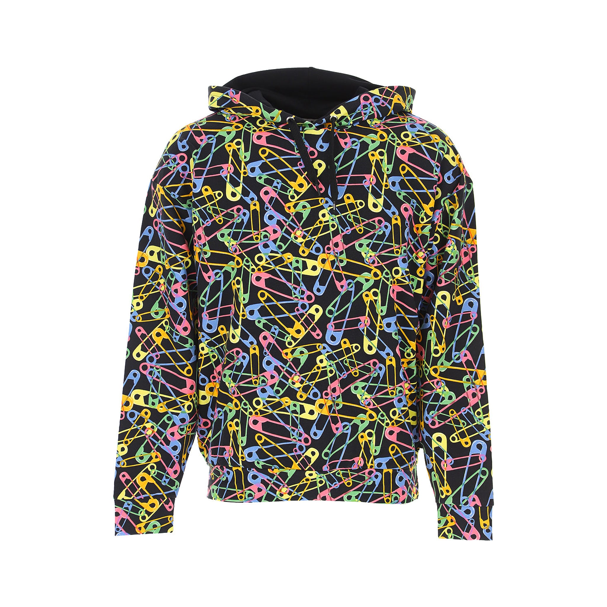 Moschino Underwear Pin Print Hooded Sweatshirt