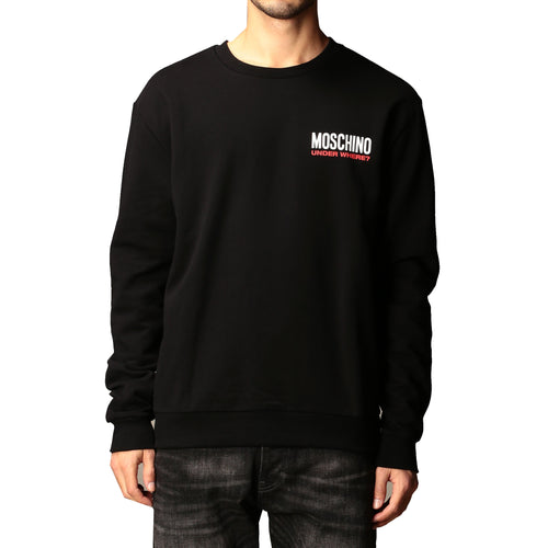 Moschino Underwear Logo Cotton Sweatshirt