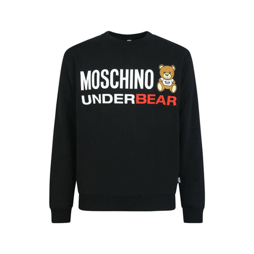 Moschino Underwear Under Bear Logo Sweatshirt