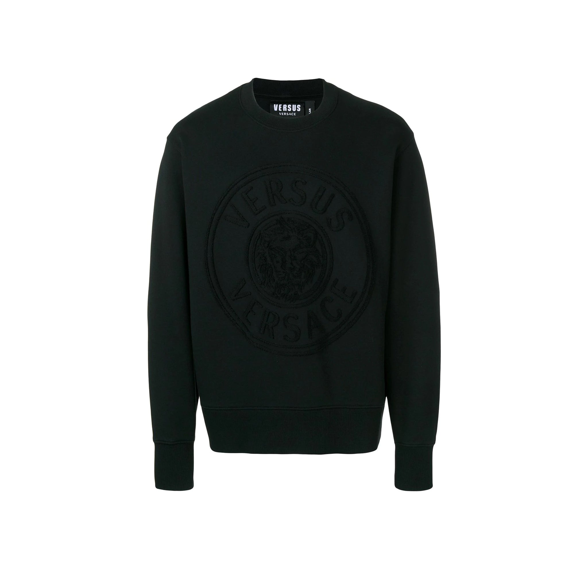 Versace Versus Cotto Logo Patch Sweatshirt