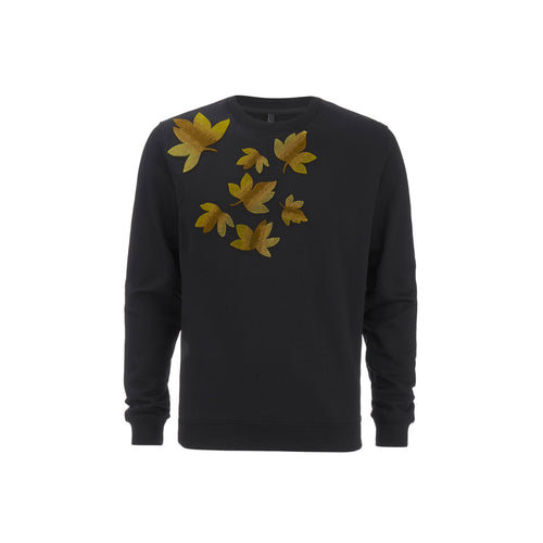 Versace Versus Embroidered Leaves Sweatshirt