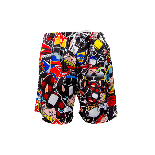 Dsquared2 All-Over Print Swim Shorts