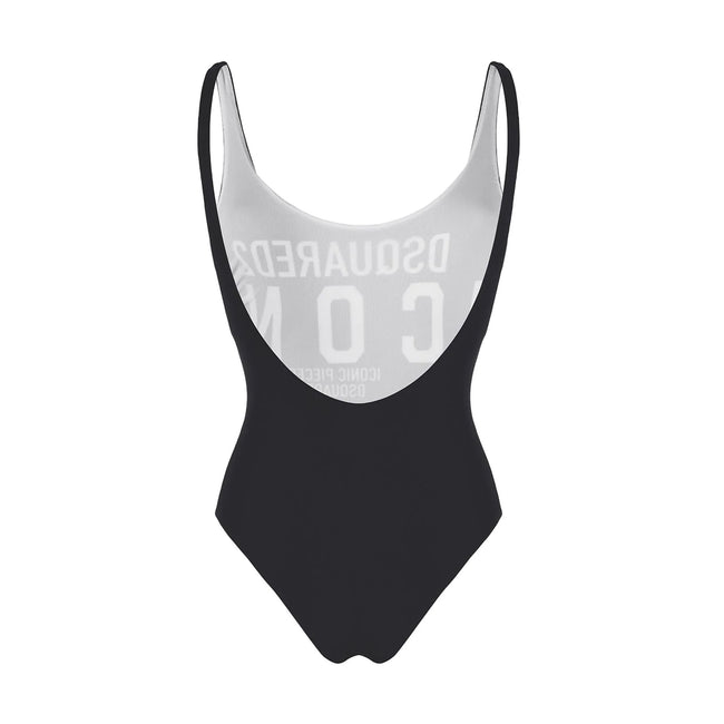 Dsquared2 One-Piece Logo Swimsuit
