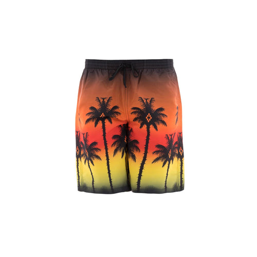 Marcelo Burlon County Of Milan Exotic Printed Swim Shorts