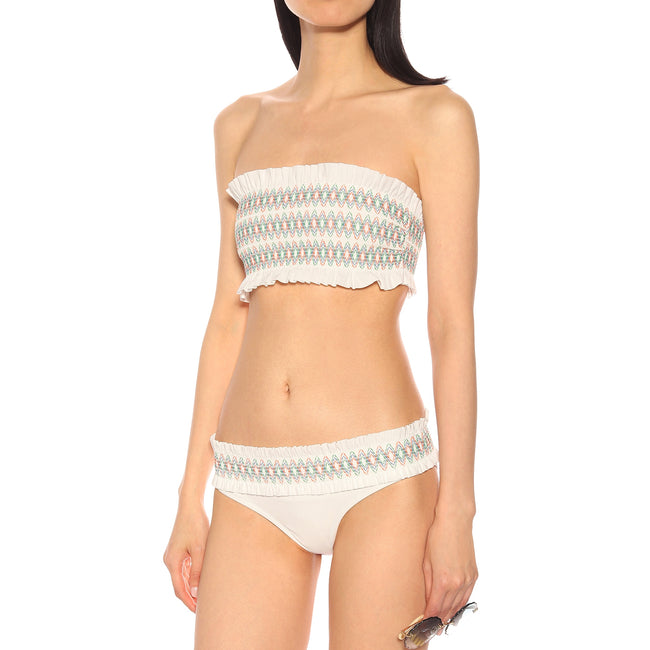 Tory Burch Embroidered Costa Swimsuit