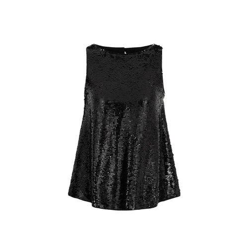 Emporio Armani Sequin-Covered Top