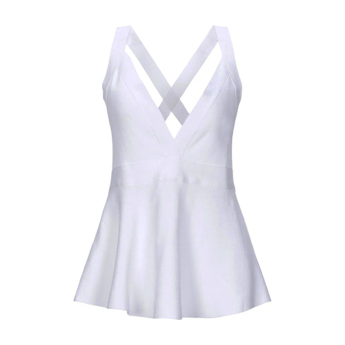 Boutique Moschino Flared Sleeveless Top