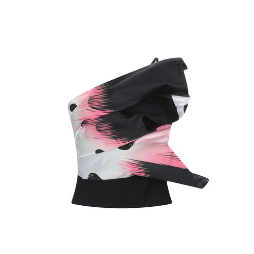 Space Simona Corsellini Bandeau Top