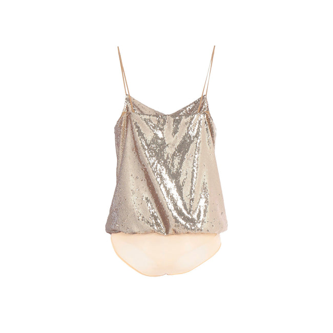 Space Simona Corsellini Sequins Body Top