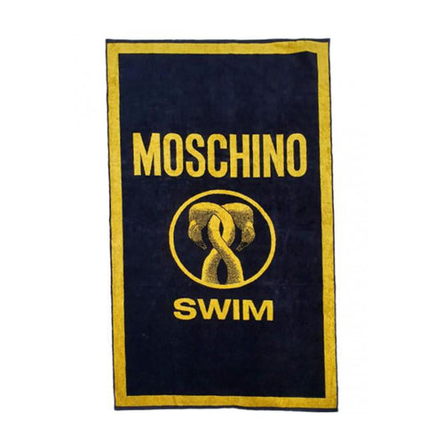 Moschino Swim Logo Towel