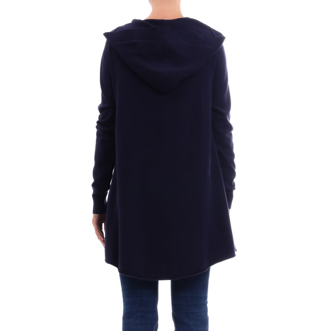 Cashmere Company Long Wool Blend Cardigan