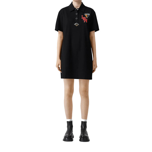 Burberry Logo Graphic Cotton Dress