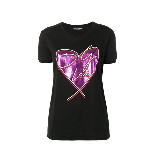 Dolce & Gabbana Love Cotton T-Shirt