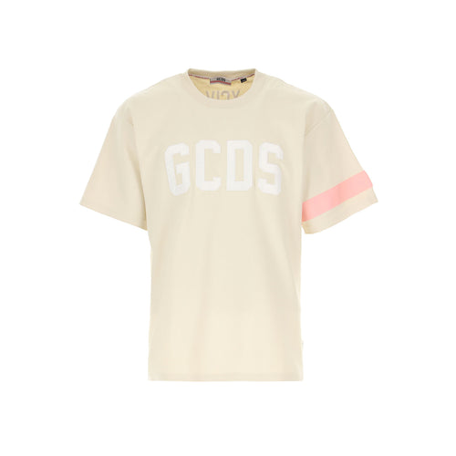 Gcds Logo Cotton T-Shirt