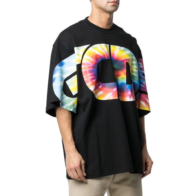 Gcds Logo Oversized Cotton T-Shirt