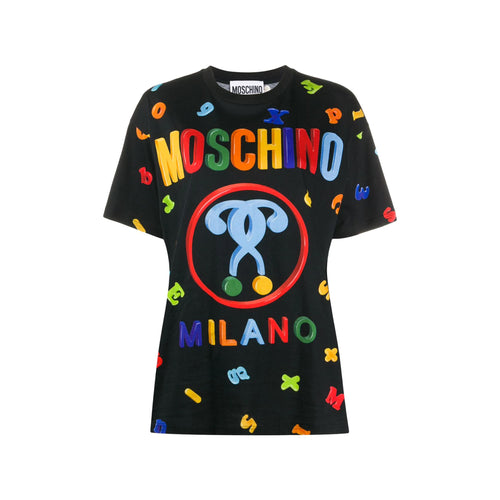 Moschino Fridge Magnets Print T-Shirt
