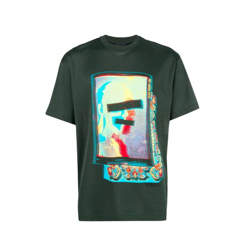 Prada Printed Cotton T-Shirt