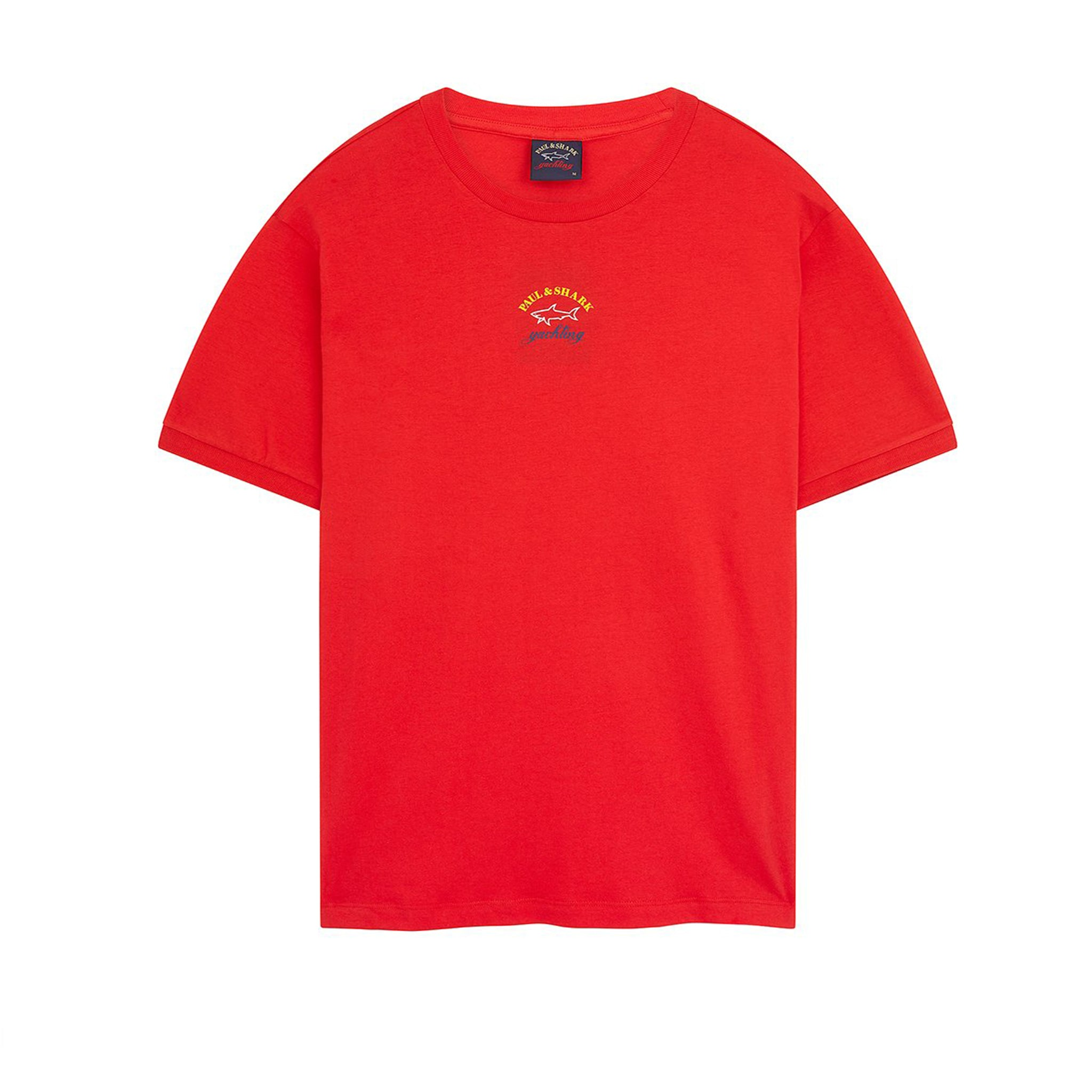 Paul & Shark Logo Cotton T-Shirt