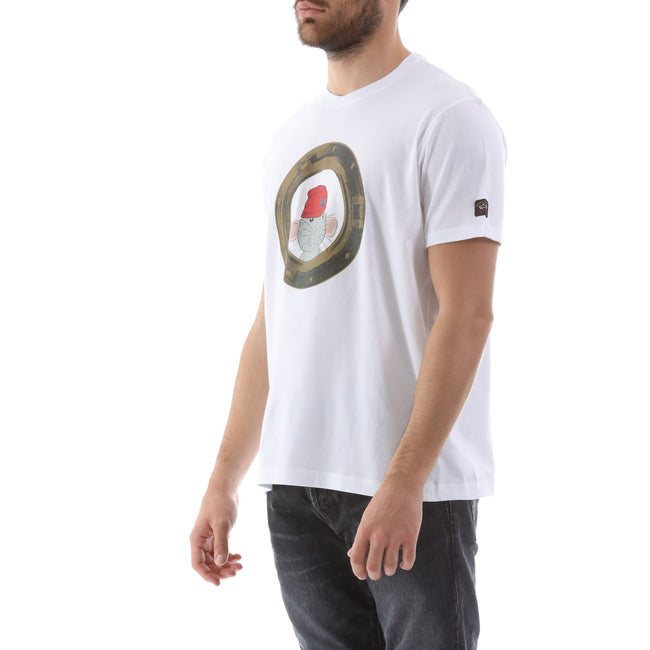Paul & Shark Rat Print T-Shirt