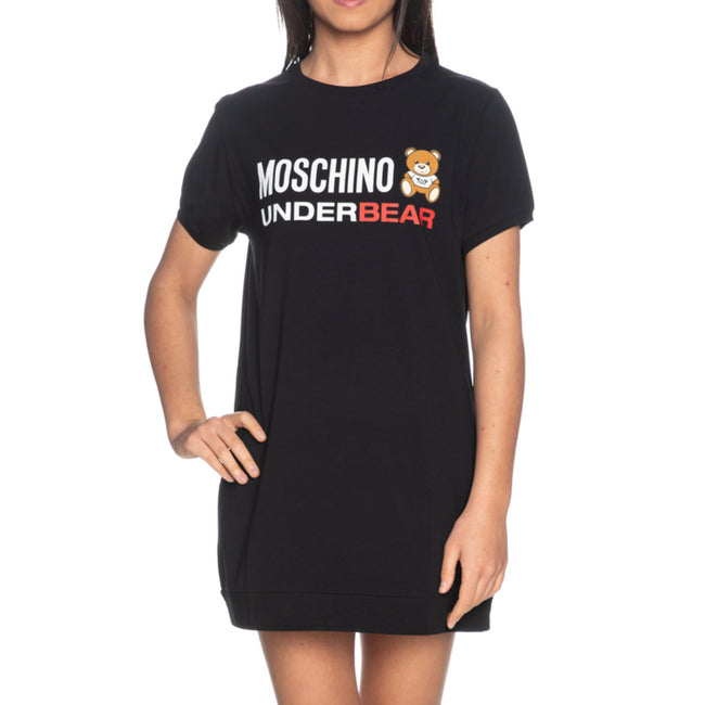 Moschino Underwear Under Bear Logo T-Shirt
