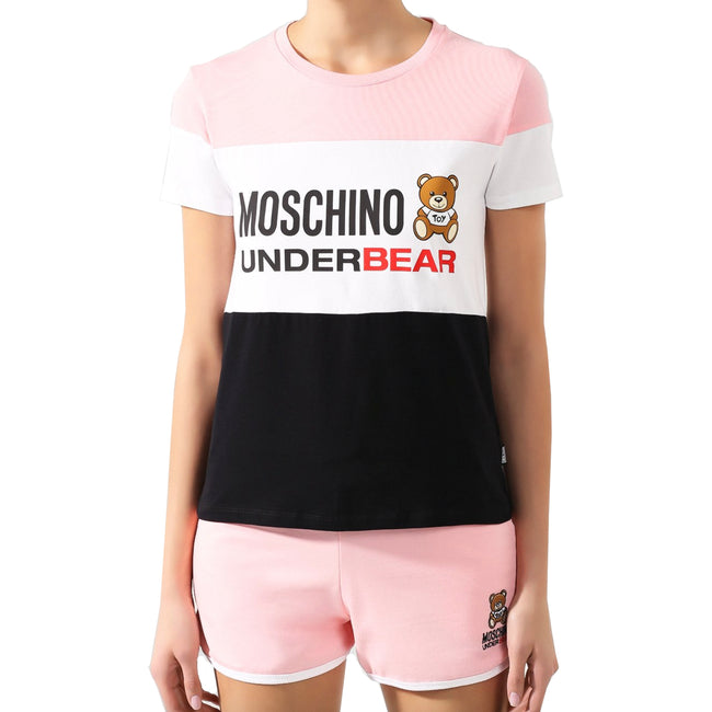 Moschino Underwear Tricolor Toy Bear T-Shirt