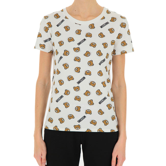 Moschino Underwear Teddy Print T-Shirt