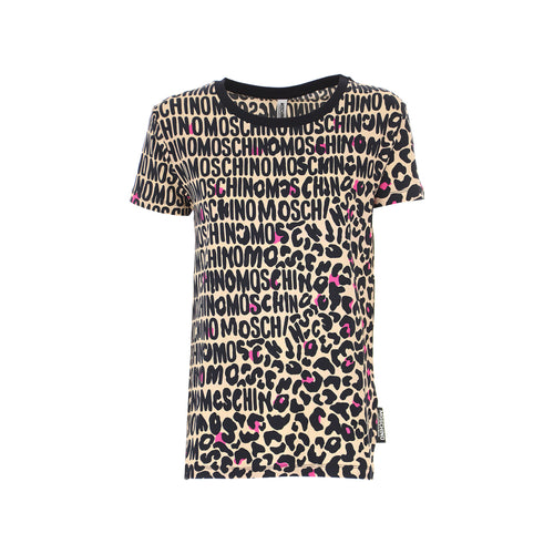Moschino Underwear All-Over Logo T-Shirt