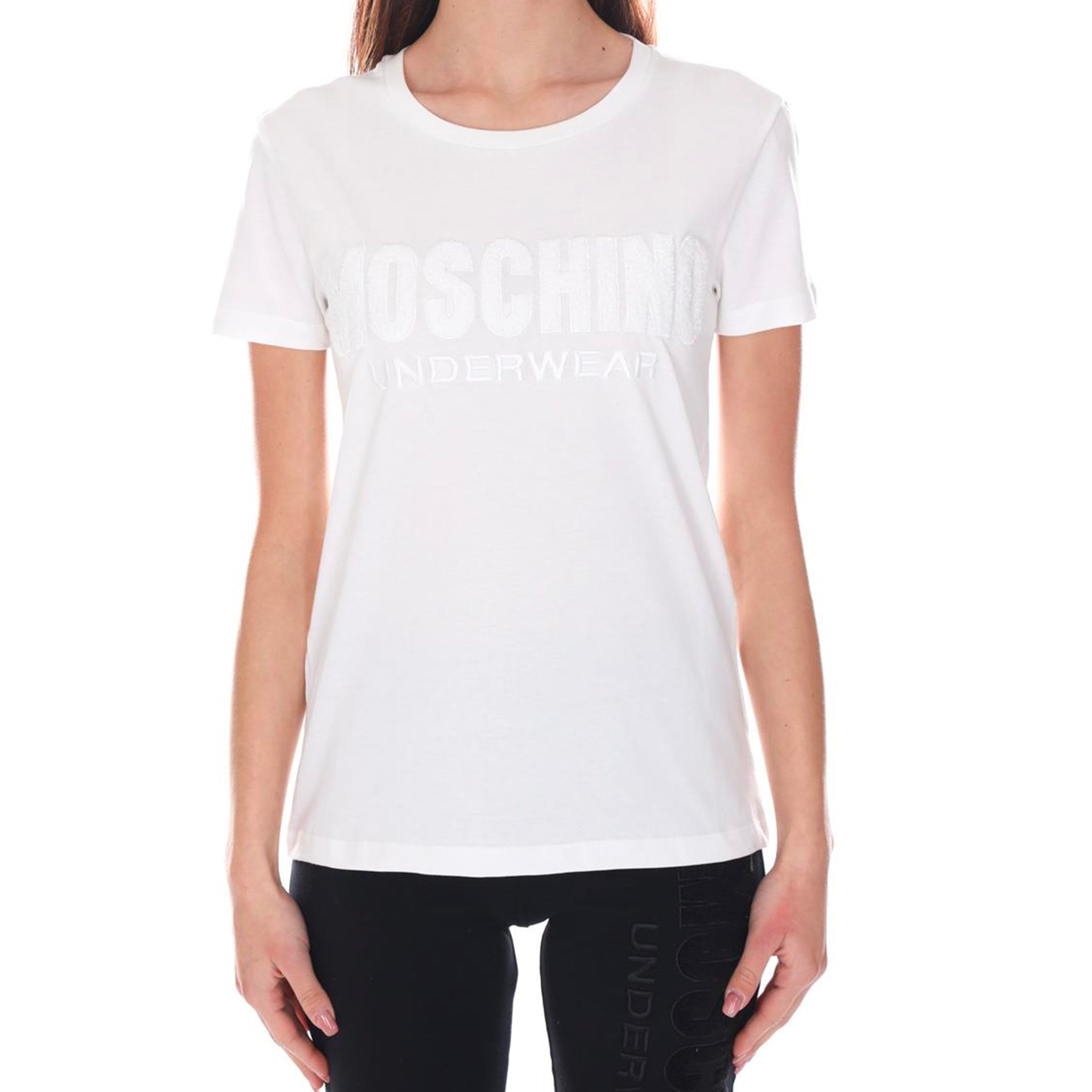 Moschino Underwear Cotton Logo T-Shirt