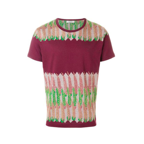Valentino Feather Print T-Shirt