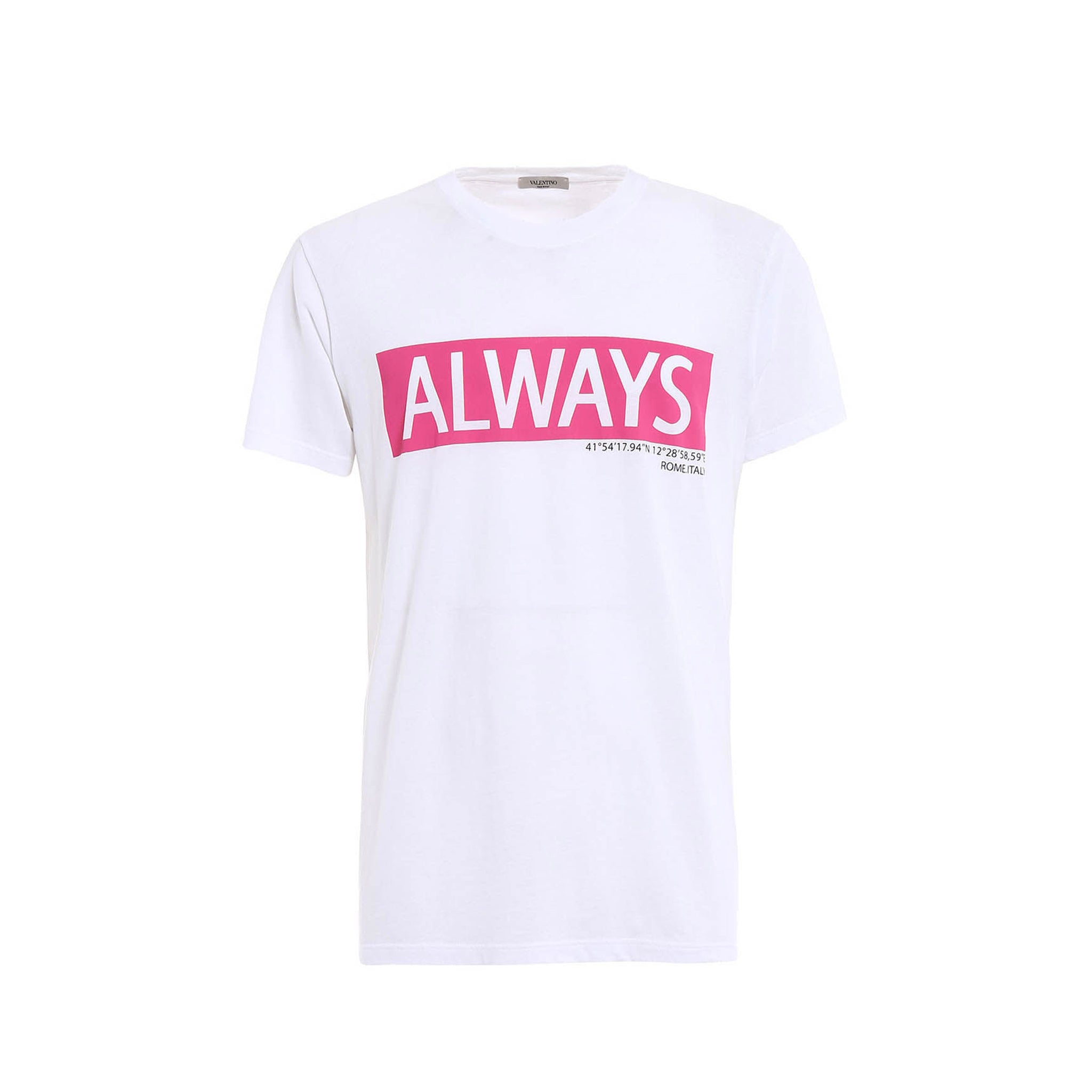 Valentino Always Print Cotton T-Shirt