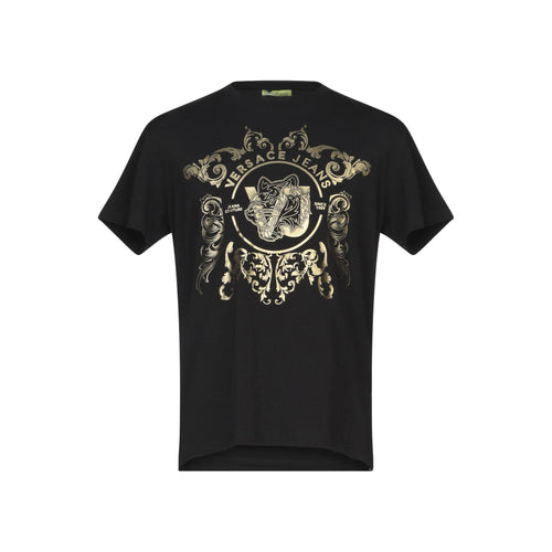 Versace Jeans Cotton Logo T-Shirt