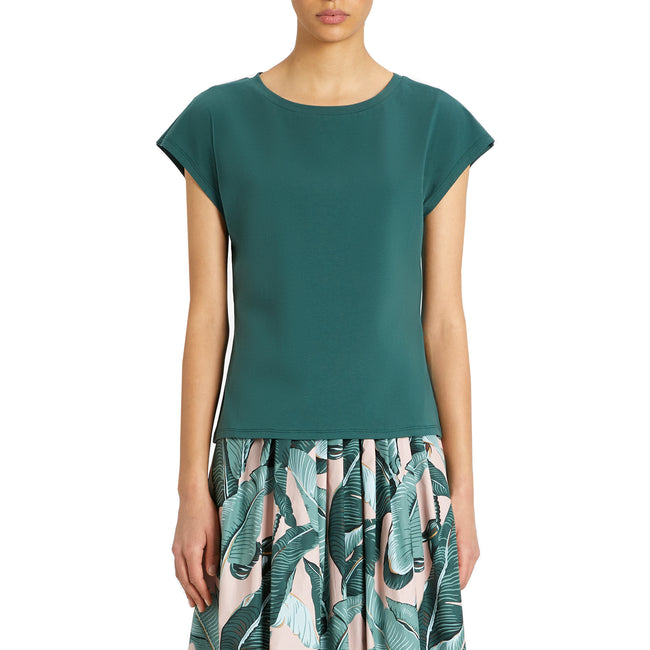 Max Mara Weekend Multie Cotton Jersey T-Shirt