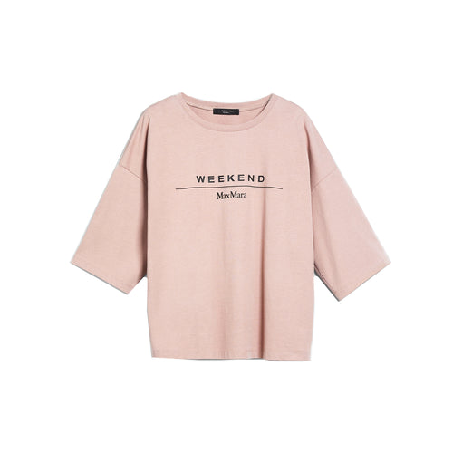 Max Mara Weekend Agami Boxy Logo T-Shirt