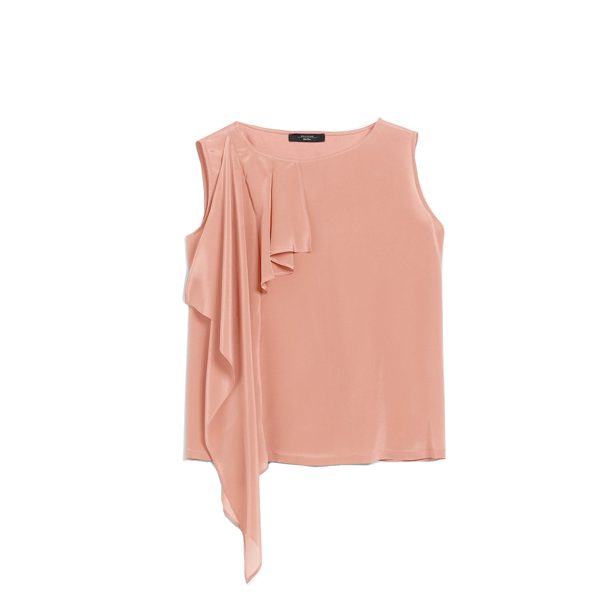 Max Mara Weekend Sequoia Jersey And Silk Top