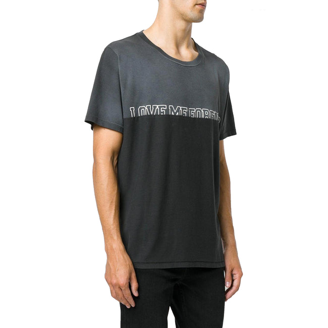 Saint Laurent I Love Me Cotton T-Shirt