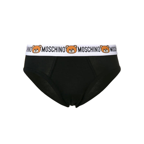 Moschino Underwear Logo Trimmed Briefs