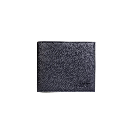 Armani Jeans Leather Card And Coin Wallet