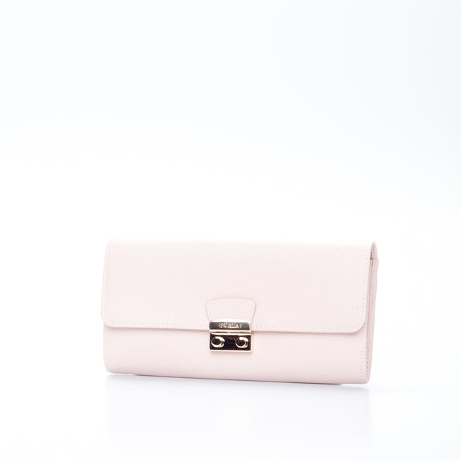 Furla Cross Grain Leather Wallet-FURLA-SHOPATVOI.COM - Luxury Fashion Designer