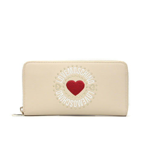 Love Moschino Embroidered Logo Wallet