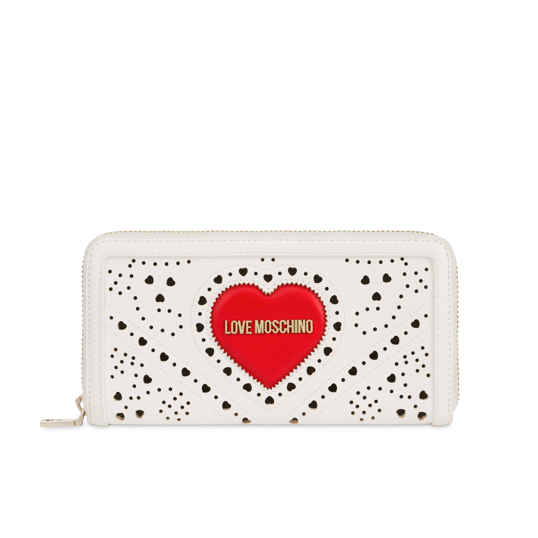Love Moschino Heart Patch Logo Wallet