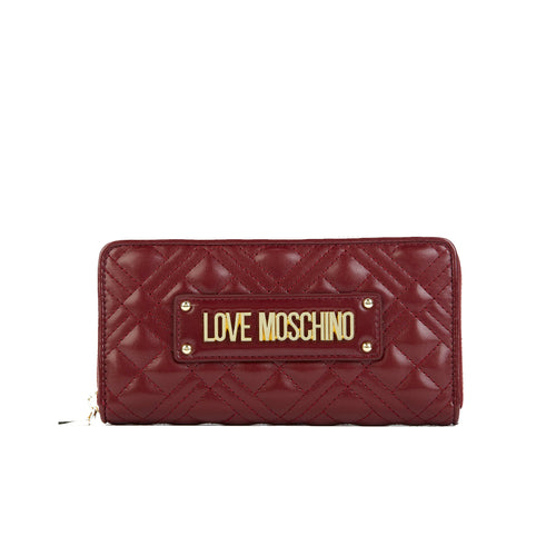 Love Moschino Quilted Logo Wallet