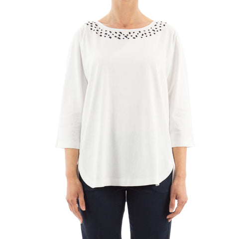 Max Mara Studio Cotton Blouse-MAX MARA STUDIO-SHOPATVOI.COM - Luxury Fashion Designer