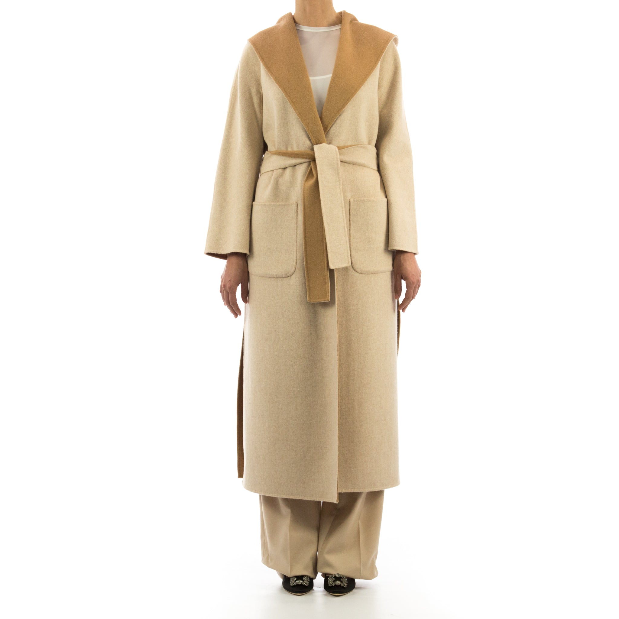 Reversible Wool Coat-HERESIS-SHOPATVOI.COM - Luxury Fashion Designer