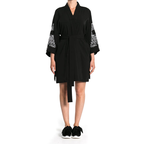 Oversized Kimono Trench-MARCELO BURLON COUNTY OF MILAN-SHOPATVOI.COM - Luxury Fashion Designer