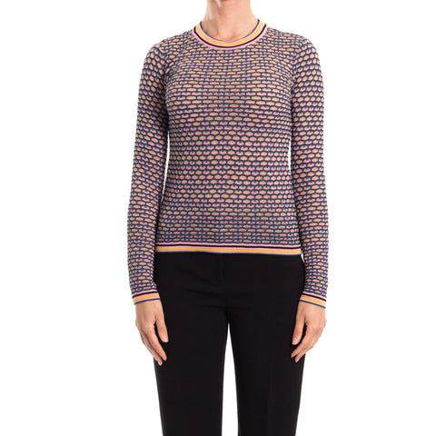 M. Missoni Knitted Cotton Blend Top-M. MISSONI-SHOPATVOI.COM - Luxury Fashion Designer