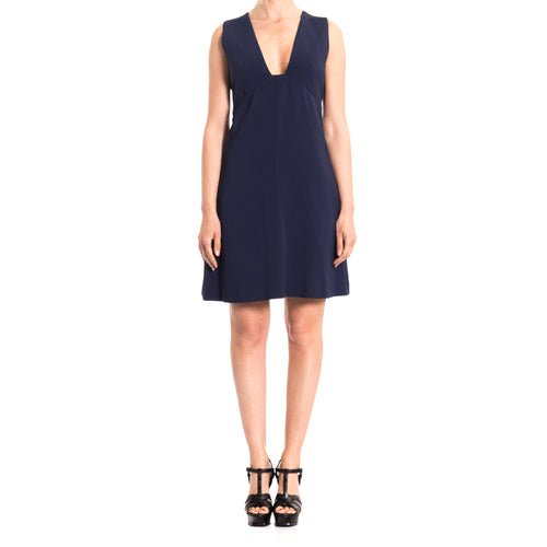 Sleeveless Viscose Dress-STELLA MCCARTNEY-SHOPATVOI.COM - Luxury Fashion Designer