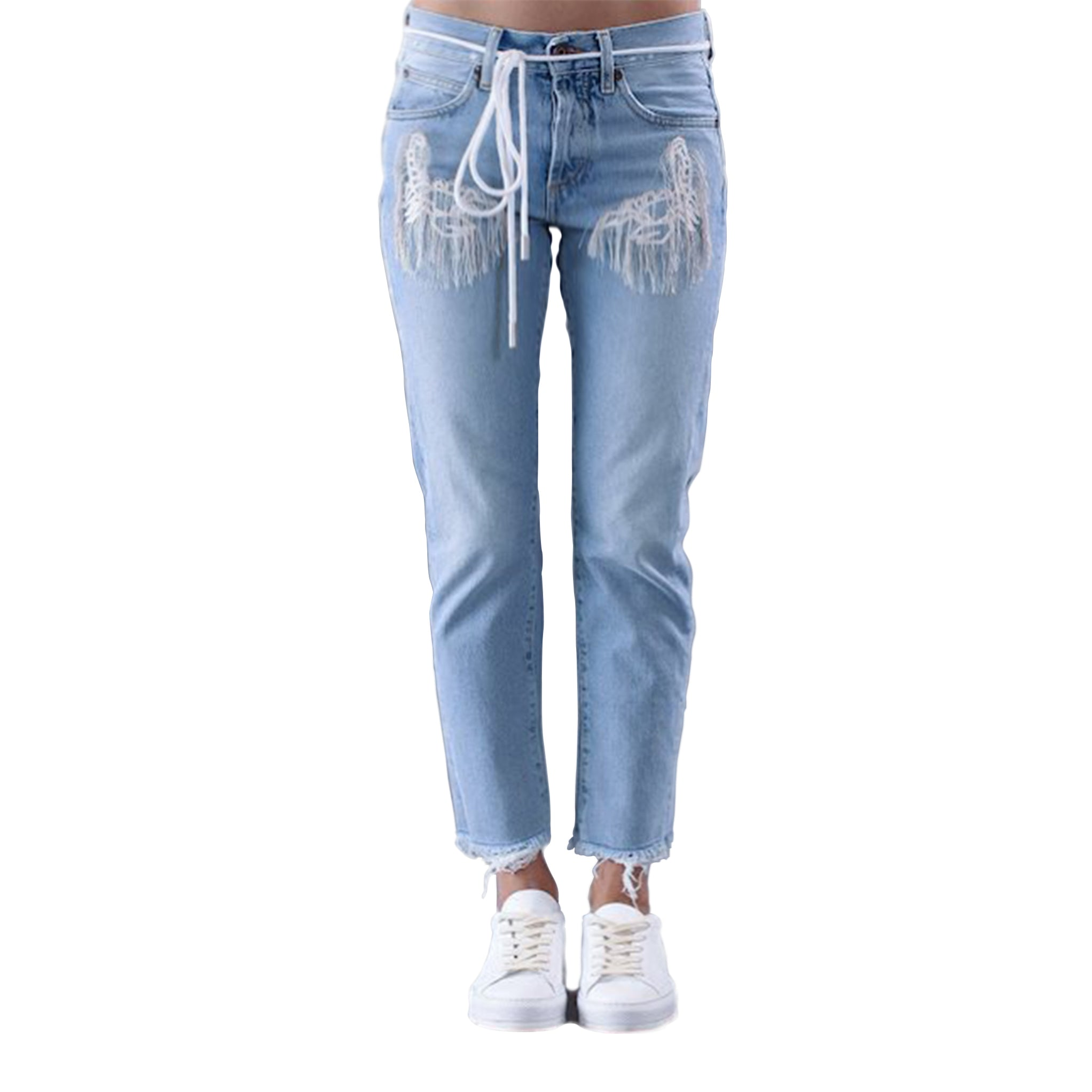 Off White Main Label Denim Jeans
