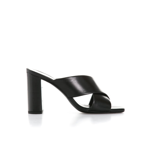 Yves Saint Laurent Loulou 95 Leather Mules-YVES SAINT LAURENT-SHOPATVOI.COM - Luxury Fashion Designer