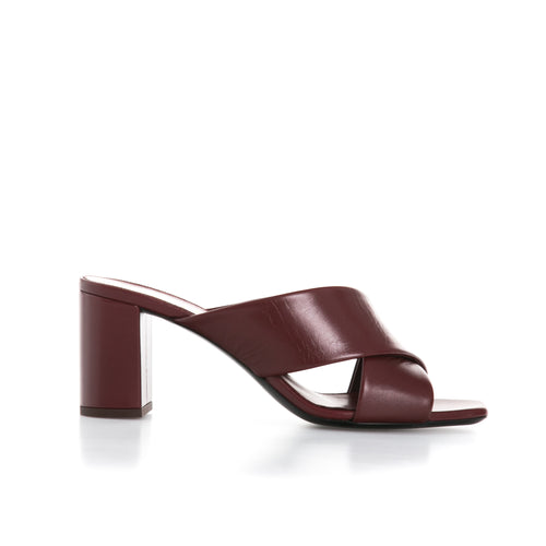 Yves Saint Laurent Leather Mules-YVES SAINT LAURENT-SHOPATVOI.COM - Luxury Fashion Designer